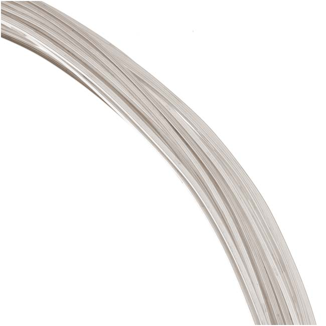 1 Oz. (30 Ft.) Sterling Silver Wire 22 Gauge Square Dead Soft
