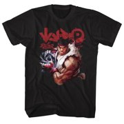 Street Fighter Video Martial Arts Arcade Game Controls Adult T-Shirt Tee