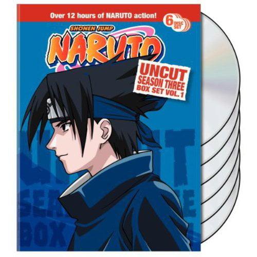Naruto Uncut Box Set: Season Three, Vol. 1 (Full Frame)