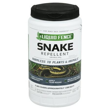 Liquid Fence HG-85010 Snake Repellent Granular, Naphthalene Free, 2 Lb 4 Lb Snake Repellent