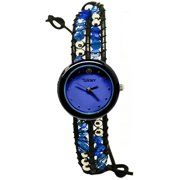 Winky Designs Classic Wrap Watch, Blue Lagoon