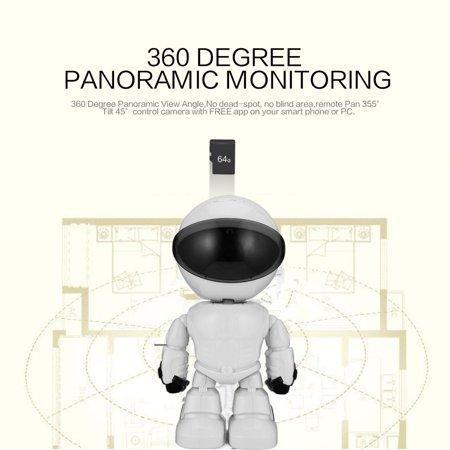 2 0MP HD 1080P Wireless Robot Camera Wifi IP Camera for Baby
