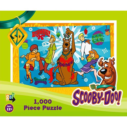 Scooby Doo Christmas 1000 Piece Puzzle