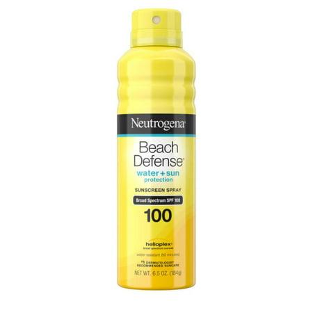 Neutrogena Beach Defense Oil-free Body Sunscreen Spray