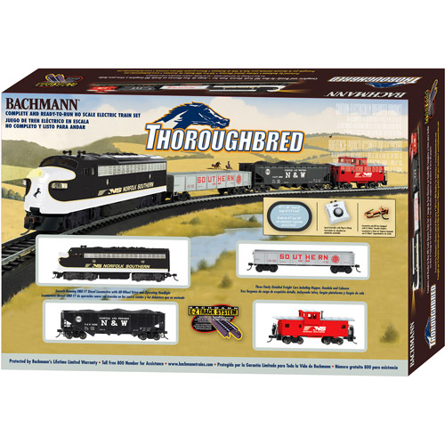 Bachmann HO Thoroughbred Electric Train Set
