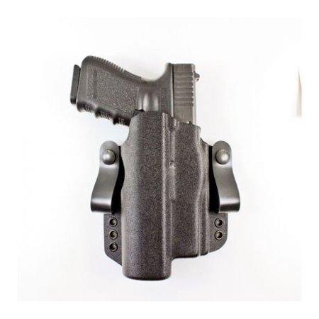 DeSantis Light Bearing Raptor OWB/IWB Holster, Glock 17,17 Gen 5, 22,31, (Used Glock 30 Gen 3 For Sale)