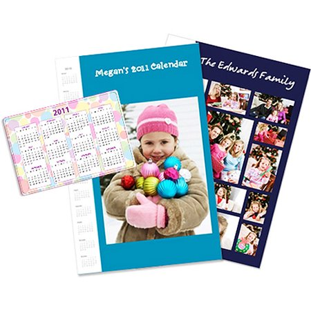 11x14 Calendar Collage Poster, Glossy Poster Paper