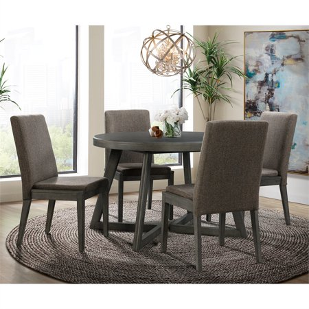 Picket House Furnishings Hudson Round 5-Piece Dining Set-Table & Four Chairs ()