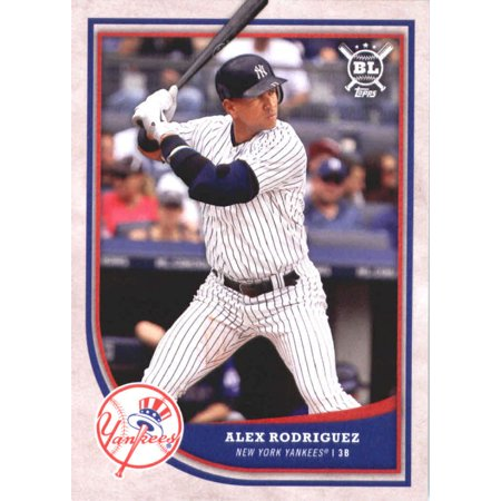 2018 Topps Big League #343 Alex Rodriguez New York Yankees Baseball Card - *GOTBASEBALLCARDS