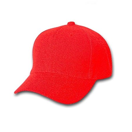 Plain Unisex Baseball Cap - Blank Hat with Solid Color   Adjustable for Men    Women - Max Comfort (6 Units 2277d500d43