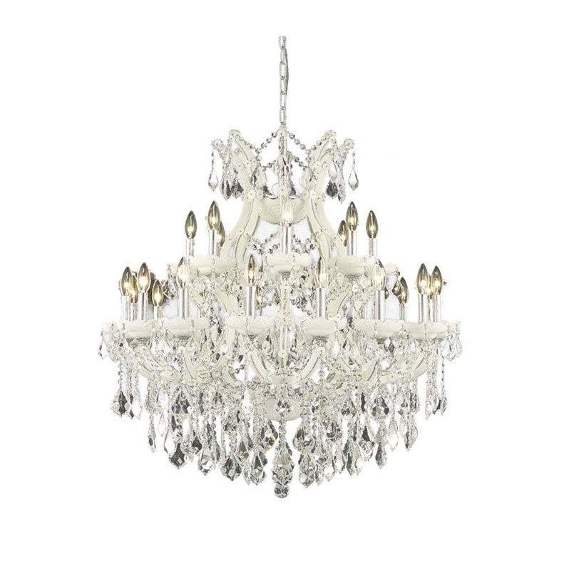 "Elegant Lighting Maria Theresa 36"" 24 Light Elegant Crystal Chandelier - image 1 de 1"