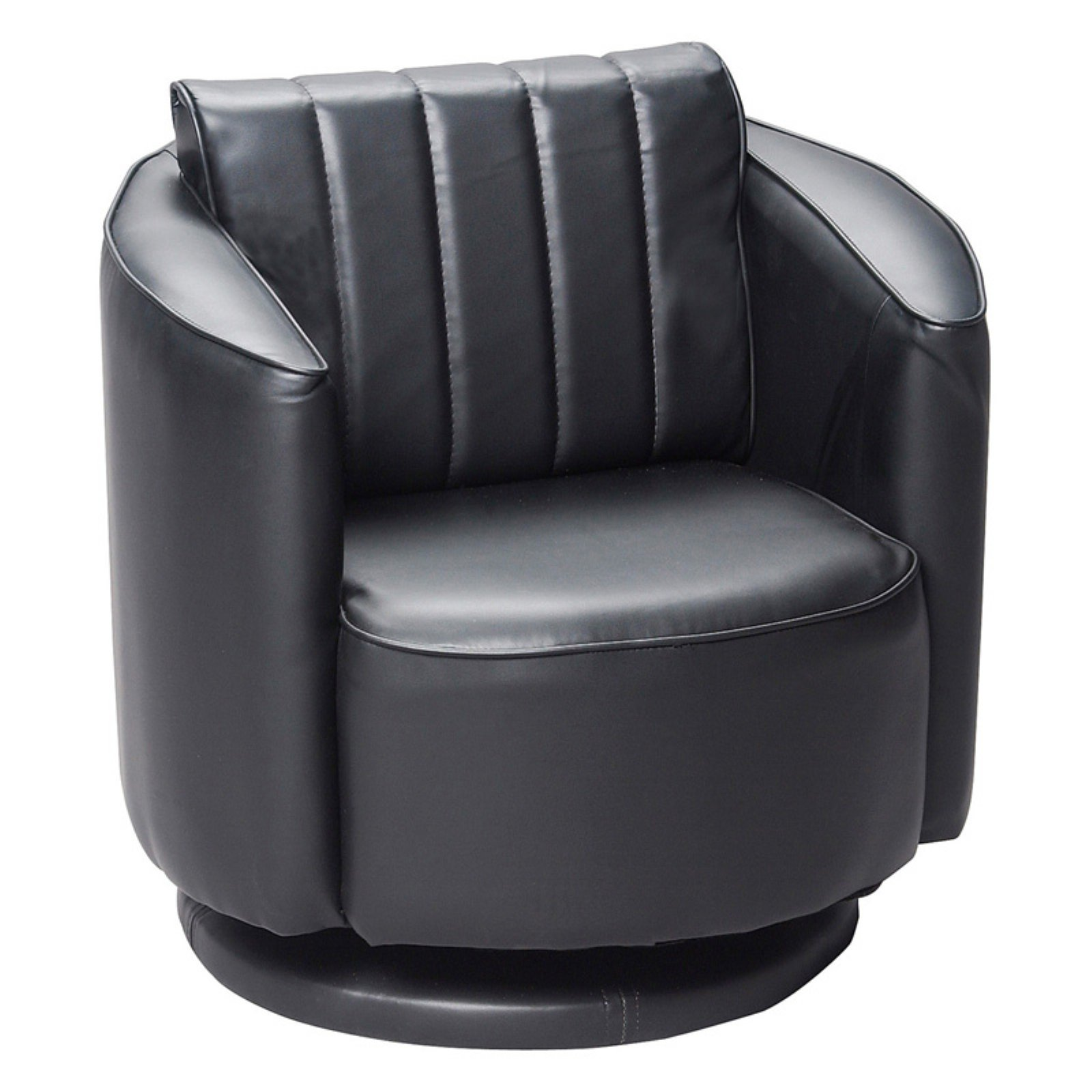 Picture of: Gift Mark Upholstered Swivel Chair Walmart Com Walmart Com