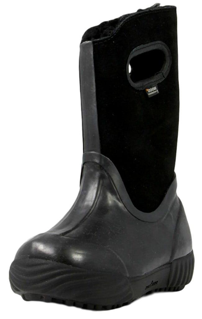 Bogs Boots Girls Kids Prairie Solid Waterproof Suede 71838 by Bogs