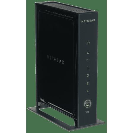 NETGEAR N300 Single Band WiFi Router, 4-Port Gigabit Ethernet (WNR2000)