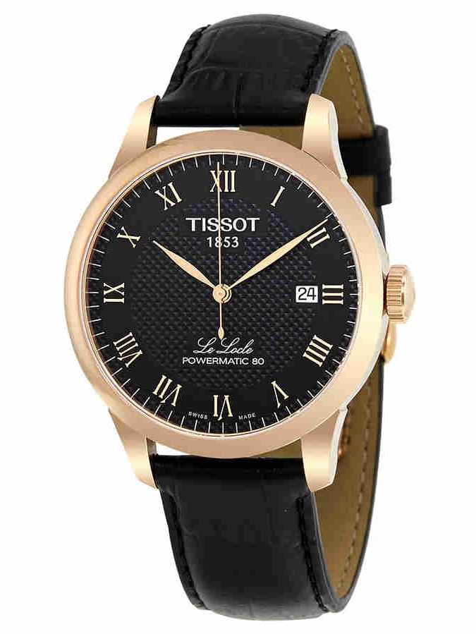 T-Classic Automatic Black Dial Mens Watch T0064073605300