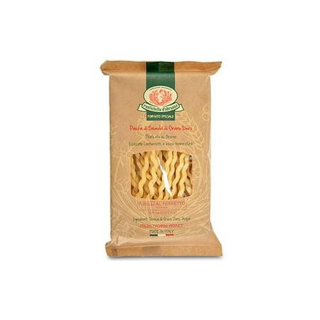 Rustichella Dabruzzo Wheat Spaghetti - Rustichella d'Abruzzo Durum Wheat Fusilli al Ferretto Pasta - 8.8 oz