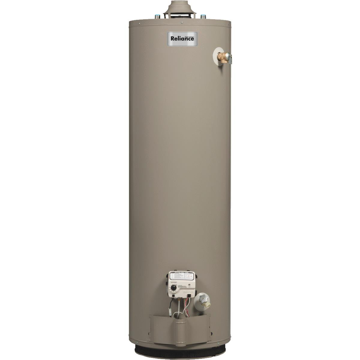 Reliance Natural Gas Gas Water Heater With 2 In. Insulation