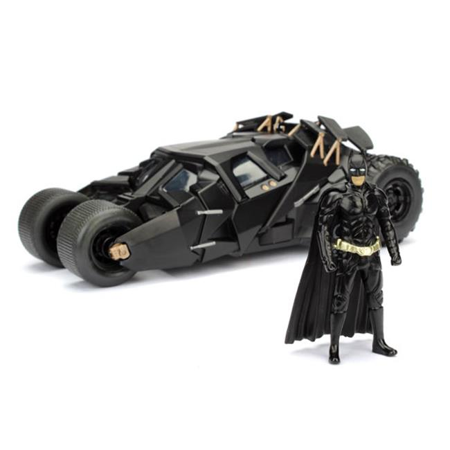 Jada Toys JAD98261 Batmobile Tumbler with Diecast Batman Figure by Jada Toys