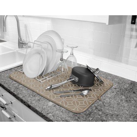 Cuisinart Dish Rack Interesting Cuisinart Ultra Absorbent Kitchen Dish Drying Mat 60% Microfiber