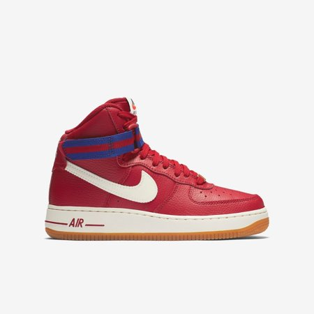 Nike Youth Air Force 1 High GS Shoes (653998-605) Gym Red/