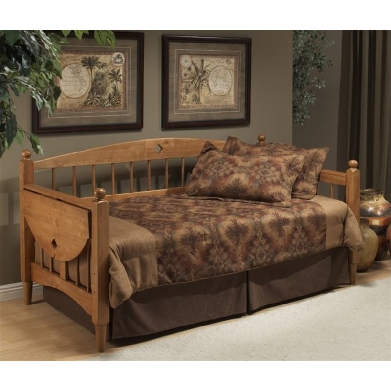 Bowery Hill Daybed in Medium Oak