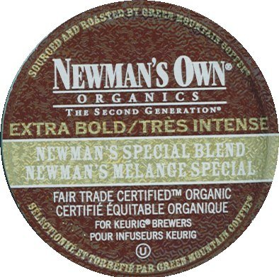90 Pack - Newman's Own Extra Bold Special Blend Coffee K-Cups for Keurig Brewers