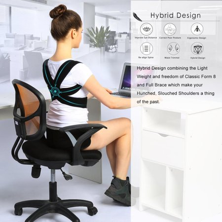 Upper Back Shoulder Spine Support Belt Posture Correction For Men Women, Posture Correction Support Belt, Posture Correction Belt