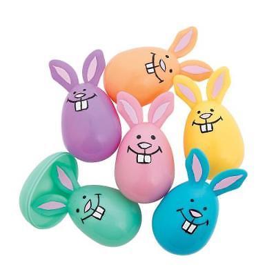 IN-13677256 Pastel Bunny Easter Eggs Per Dozen 2PK
