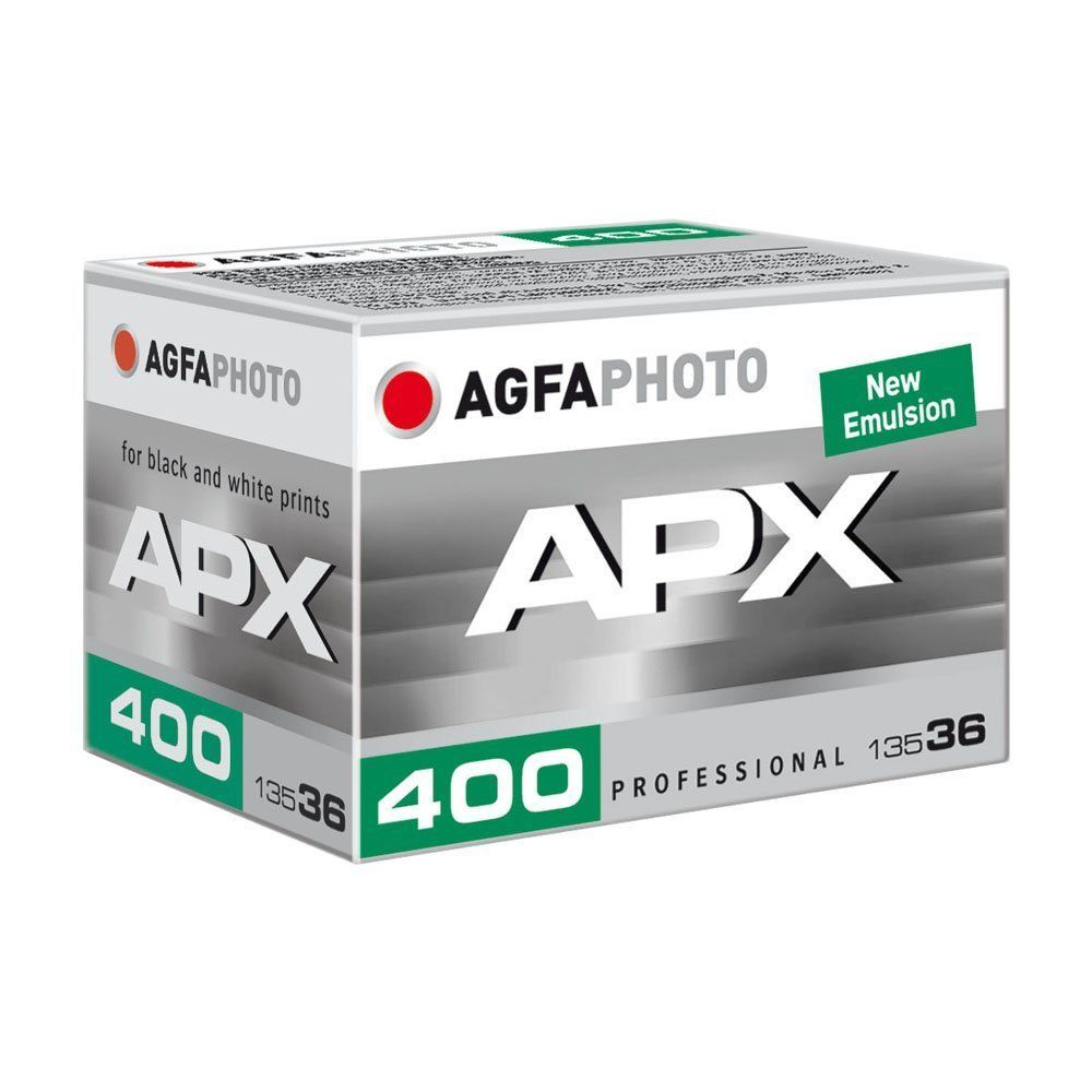 Agfa Photo APX 400 36 Exp. Pro Black and White Negative 35mm Film by Agfa