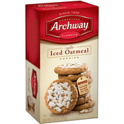 Archway Classics Cookies, Soft Iced Oatmeal, 9.25 Oz