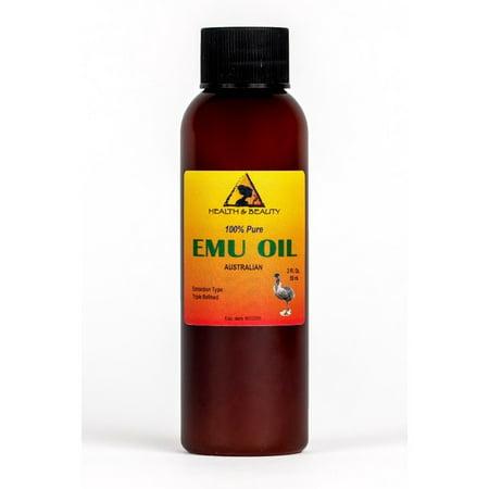 EMU OIL AUSTRALIAN ORGANIC TRIPLE REFINED 100% PURE PREMIUM PRIME FRESH 2 (The Best Emu Oil)