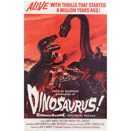 Dinosaurus (1960) 11x17 Movie Poster](Halloween 1960)