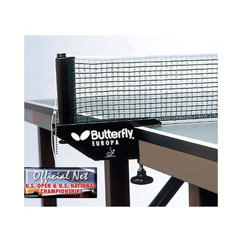 Butterfly BTY Europa Table Tennis Net Set