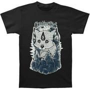 Close Your Eyes Men's  Wolves T-shirt Black