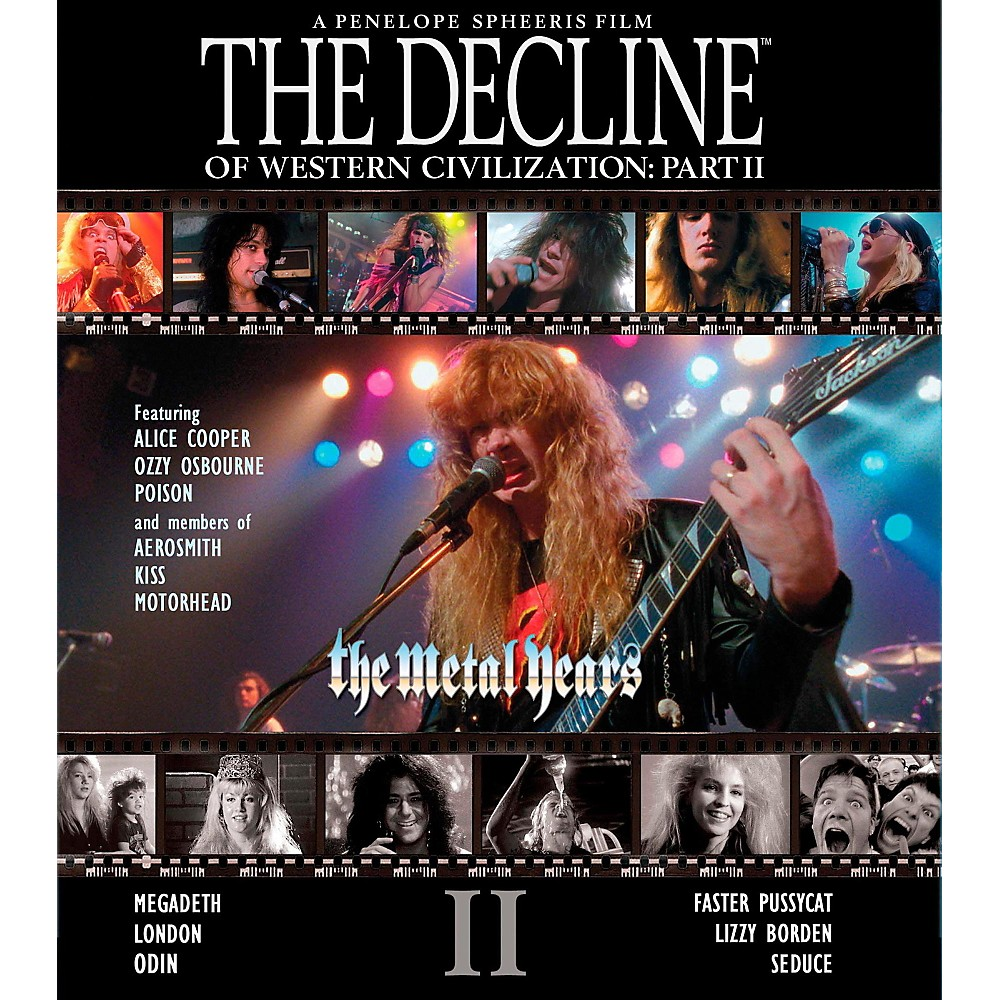 Universal Music Group The Decline Of Western Civilization Part II: The Metal Years -DVD