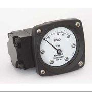 MIDWEST INSTRUMENT 142-AA-00-OO-20P Pressure Gauge,0 to 20 psi