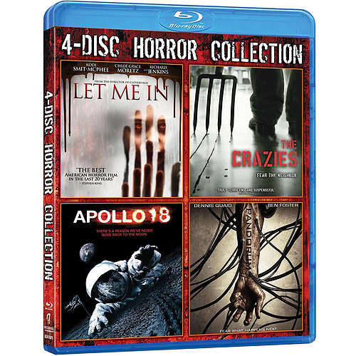 Theatrical Horror 4-Pack: Let Me In / The Crazies / Apollo 18 / Pandorum (Blu-ray) (Widescreen)