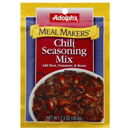 Image of Adolph's Chili Seasoning Mix, 1.3 OZ (Pack of 4)
