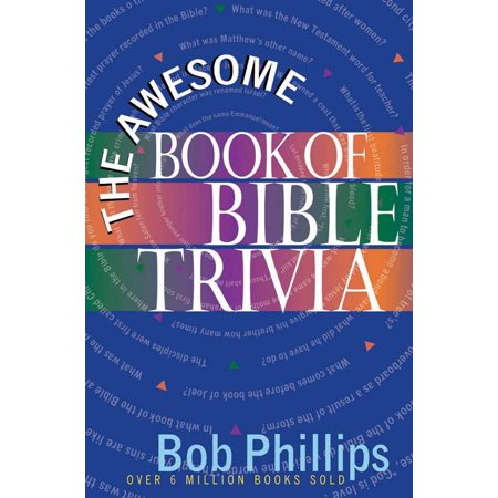 Awesome Halloween Trivia (The Awesome Book of Bible)