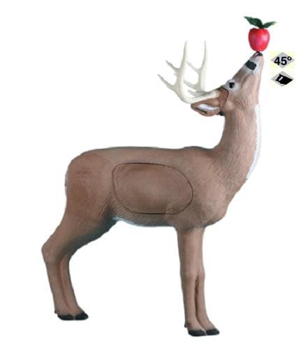 Click here to buy Rinehart Targets 109 Browsing Buck Self Healing Deer Archery Target w  Apple by Rinehart Targets.