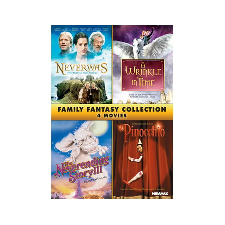 Family Fantasy 4-Film Collection (DVD) - Halloween Films For Family