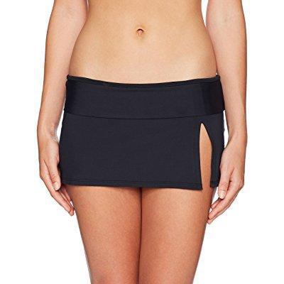 Rod Beattie Hipster Bottoms (bleu rod beattie women's skirted hipster bikini bottom, black,)