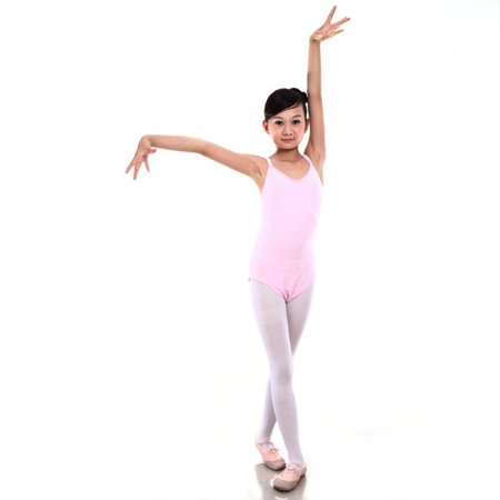 7 Sizes Girl Kid Sleeveless Dance Gymnastics Leotards Ballet Leotard Costume ()