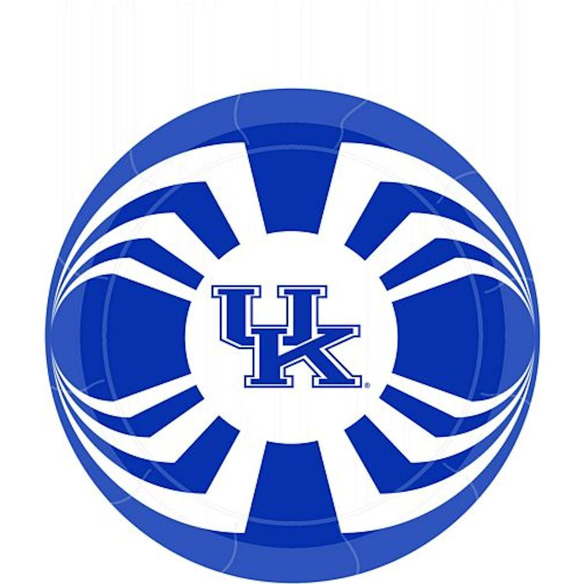 "Kentucky Wildcats 7"" Paper Plates"