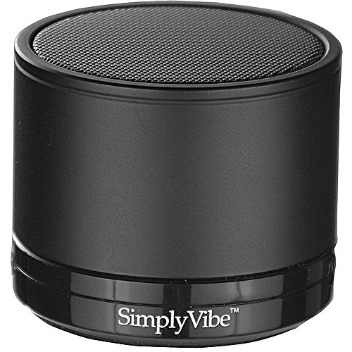 SimplyVibe V3-5CPB Portable Bluetooth Speaker