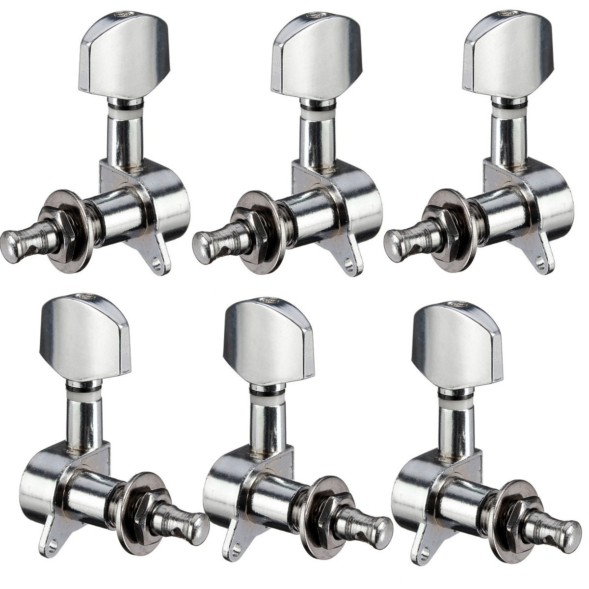 3R+3L Set Deluxe Guitar Tuning Pegs Keys Machine Heads Tuners For Gibson Style by