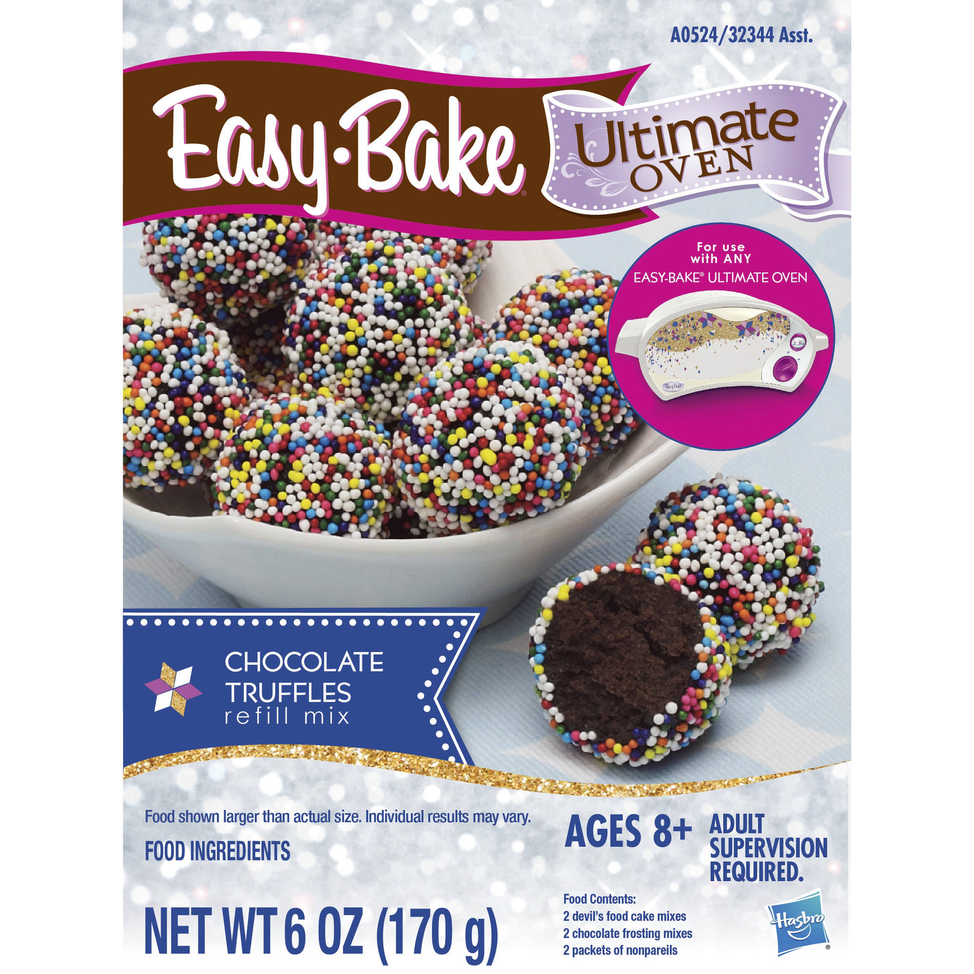 Easy-Bake Ultimate Oven Chocolate Truffles Refill Pack