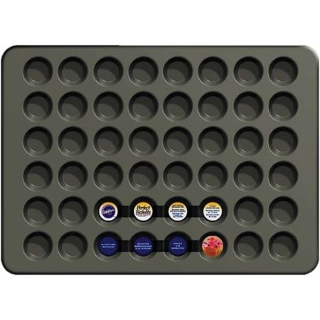 Wilton Perfect Results MEGA Mini Muffin Pan, 48 cavity