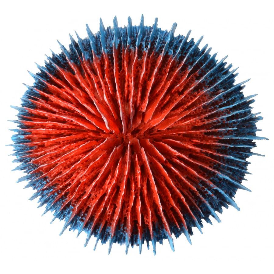 Aquatop Aquarium Coral Decoration - Red/Blue 1 Count - Pack of 4