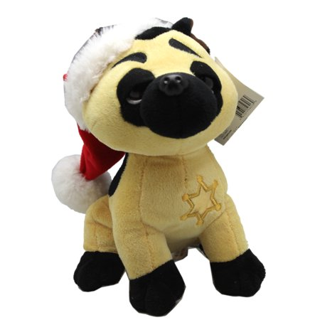 Guarder Metal (Sleepy Eyed Christmas Gift Guarder Dog Small Size Plush Toy - By Ganz (7in))